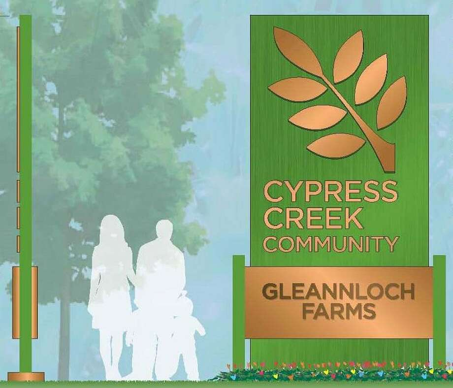 A capital campaign is underway to raise funds to purchase signs to be installed throughout the Cypress Creek community.