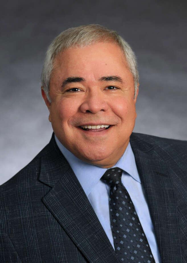 Mario Hernandez, president of the San Antonio Economic Development Foundation, outlined the foundation's goals on Tuesday. Photo: Courtesy Photo