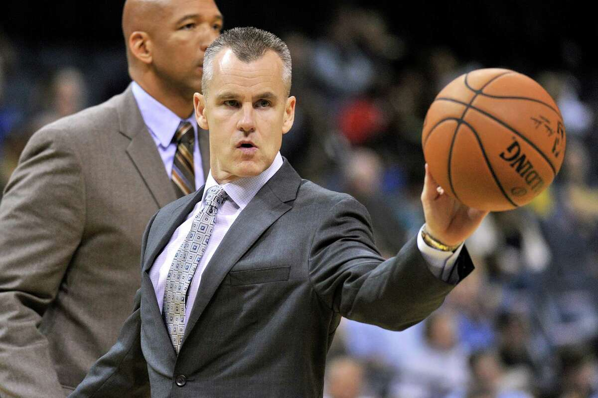 Q: Have you talked to [Billy Donovan] much? A: No.