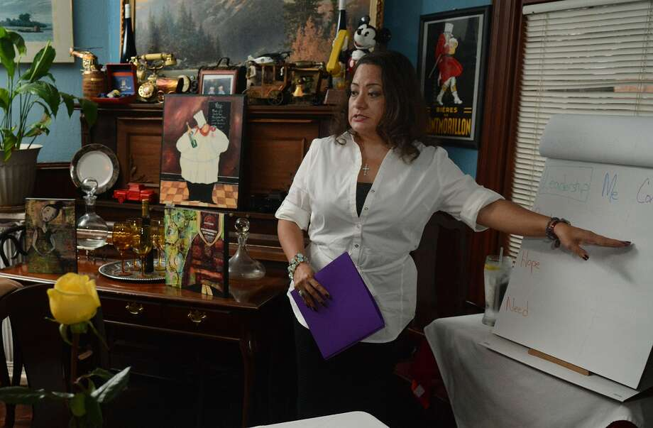 Conroe's Liz Rubio is among the women that have come together to help foster leadership among Hispanic women in Montgomery County. Photo: Jerry Baker, Freelance