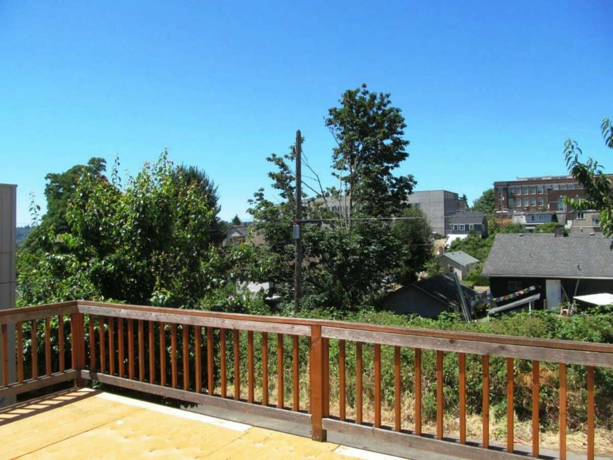 The deck and view from 5541 17th Ave. S.