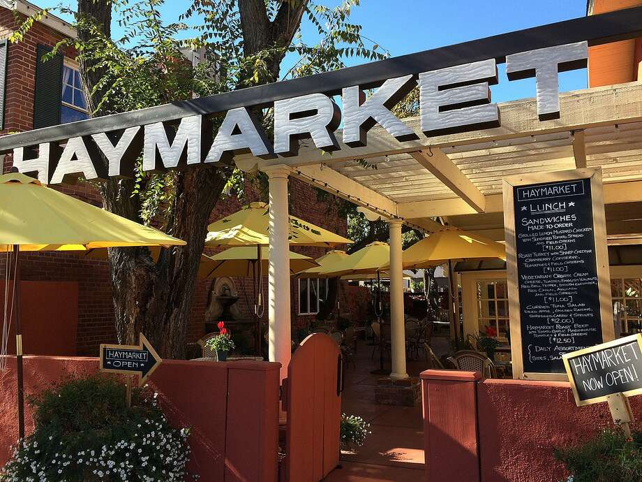 Next to Hotel Cheval in downtown Paso Robles is Haymarket, its year-old gourmet deli and cafe, which serves crepes as well as sandwiches. Photo: Jeanne Cooper, Special To The Chronicle