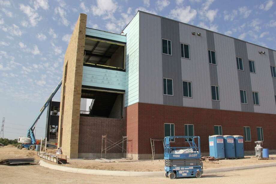 Judson Independent School District's new high school on Evans Road is under construction, and more than 2,000 district residents don't want it named after a former superintendent who is still being paid. Photo: /Courtesy Photo Provided By Judson ISD.