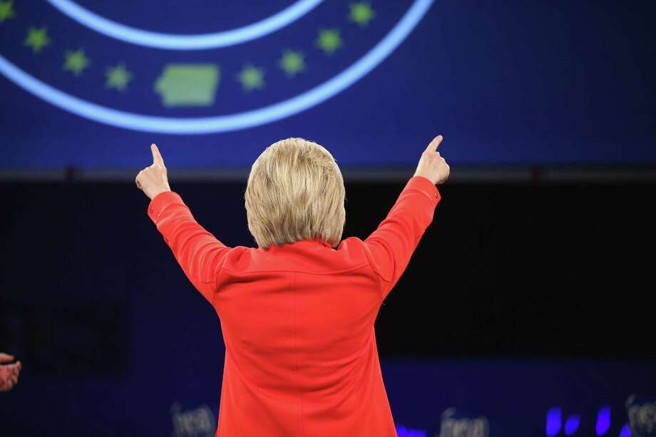 Democratic presidential candidate Hillary Clinton has turned her back on many of the Obama administration's policies. Photo: Scott Olson / / 2015 Getty Images