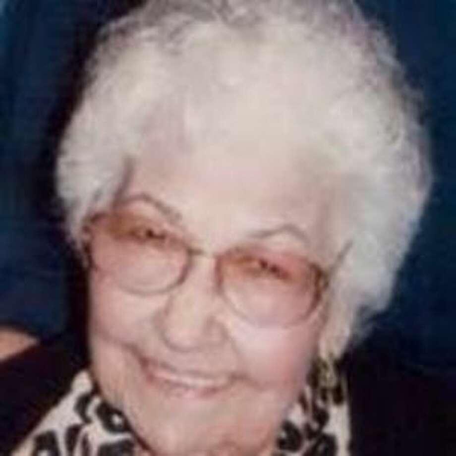 Emma M. Garza died Oct. 20. She was 96. Photo: Courtesy
