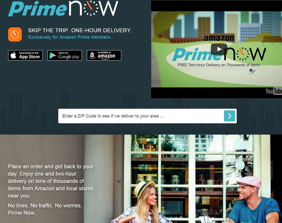 lawsuit amazon prime now couriers are employees not contractors sfgate. Black Bedroom Furniture Sets. Home Design Ideas