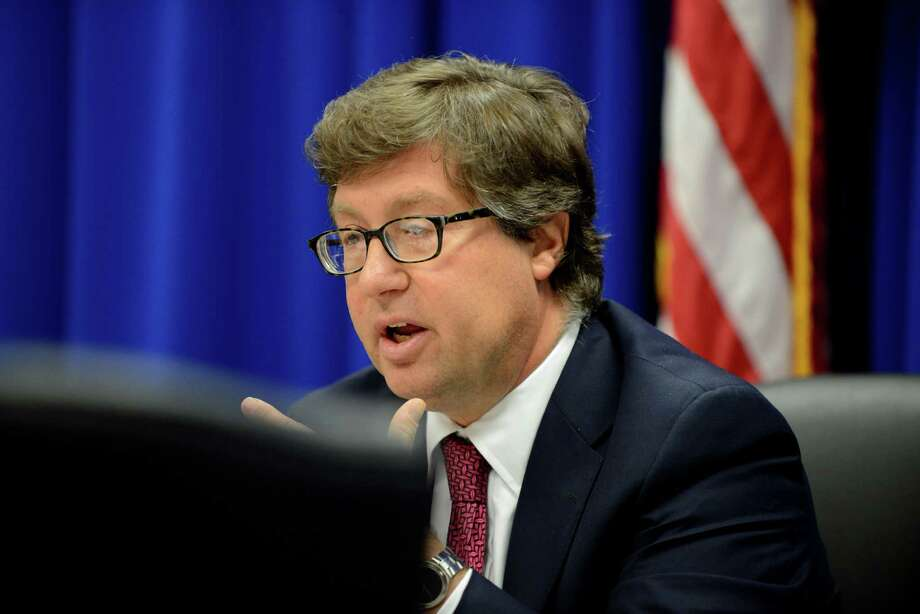 Joint Commission on Public Ethics chair, Daniel J. Horwitz speaks during a JCOPE meeting Tuesday morning, Oct. 27, 2015, in Albany, N.Y. (Will Waldron/Times Union) Photo: Will Waldron / 00033954A
