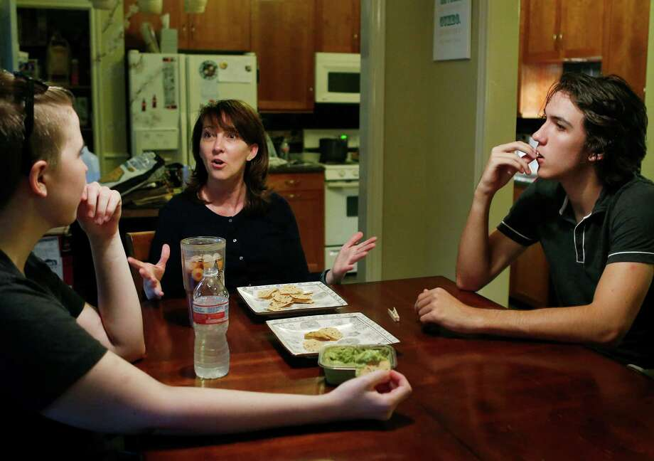 Brenda Hebert fears the HMO offerings will limit her choices of doctors and types of care.  Photo: Mark Mulligan, Staff / © 2015 Houston Chronicle