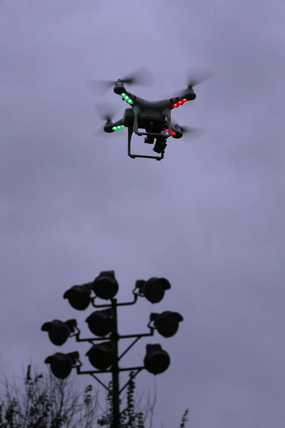 Fewer drones (and drone-related accidents).