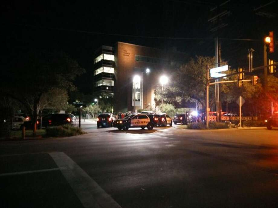 SAPD were among units that returned to UIW for an additional search of the campus late Tuesday, Oct. 27, 2015.