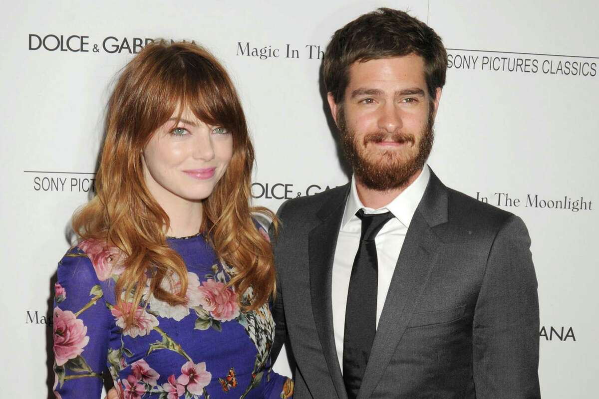 Emma Stone and Andrew Garfield split in October, 2015.