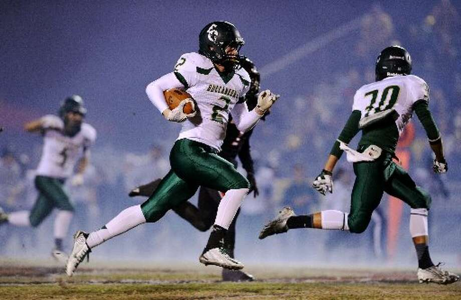 East Chamber's senior running back Dylan Silcox