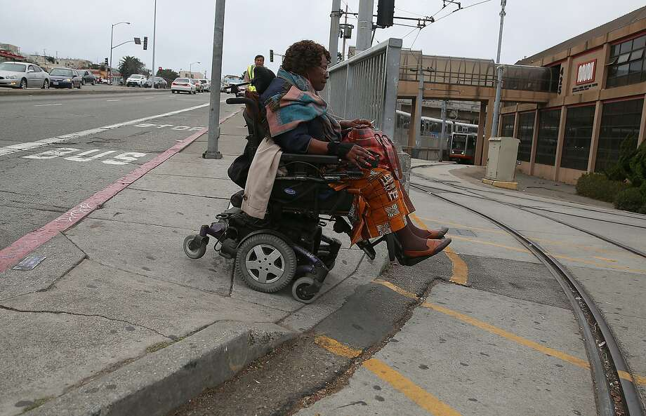 Pedestrian safety must be improved in the area around Muni's J-Church tracks, a Balboa Park neighborhood planner says. Photo: Liz Hafalia, The Chronicle