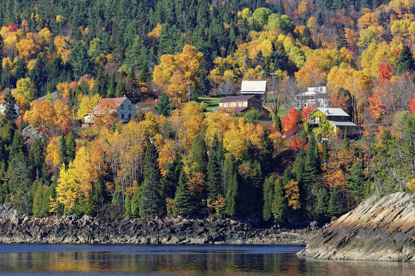 Chronicle reader Matt Barnette of Houston submitted this vacation photo taken along Saguenay Fjord, Quebec.
