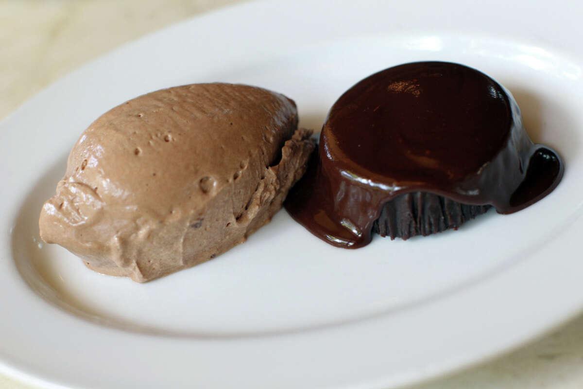 Nutella and Dark Chocolate Souffl Cake from Bin 555 and Tre Trattoria