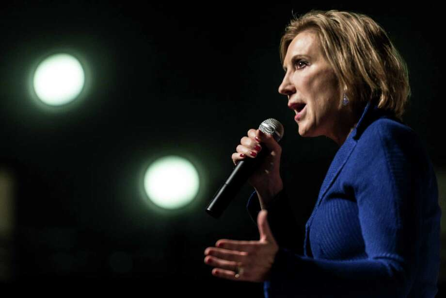 "7 reasons why Carly Fiorina is a poor choice for VPIt's official. Ted Cruz has picked Fiorina as his vice president in a ""Hail Mary"" move to try to beat Donald Trump. Here's why that won't work. Photo: Sean Rayford, Getty / 2015 Getty Images"