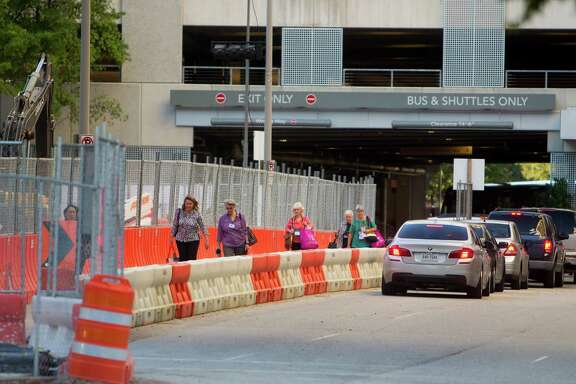 The construction around the George R. Brown Convention Center is expected to cause delays for attendees of the International Quilt Festival, which runs through Sunday.
