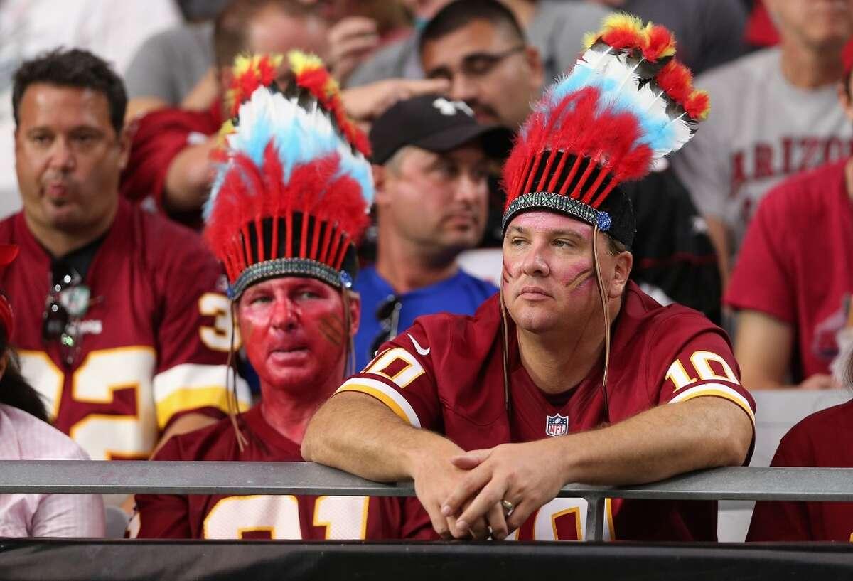 Washington Redskins fans.
