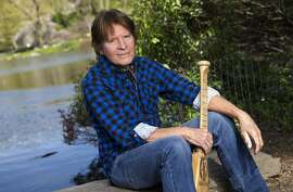 """John Fogerty. In this April 30, 2015 photo, musician  John Fogerty poses for a portrait in New York. Fogerty has a tour called 1969 and a memoir, """"Fortunate Son: My Life, My Music,"""" expected in October. (Photo by Brian Ach/Invision/AP)"""