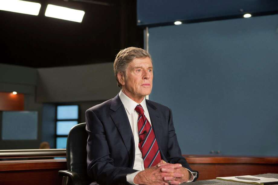 """In this image released by Sony Pictures Classics, Robert Redford portrays Dan Rather in a scene from, """"Truth."""" (Lisa Tomasetti /Sony Pictures Classics via AP) ORG XMIT: NYET521 Photo: Lisa Tomasetti / Sony Pictures Classics"""