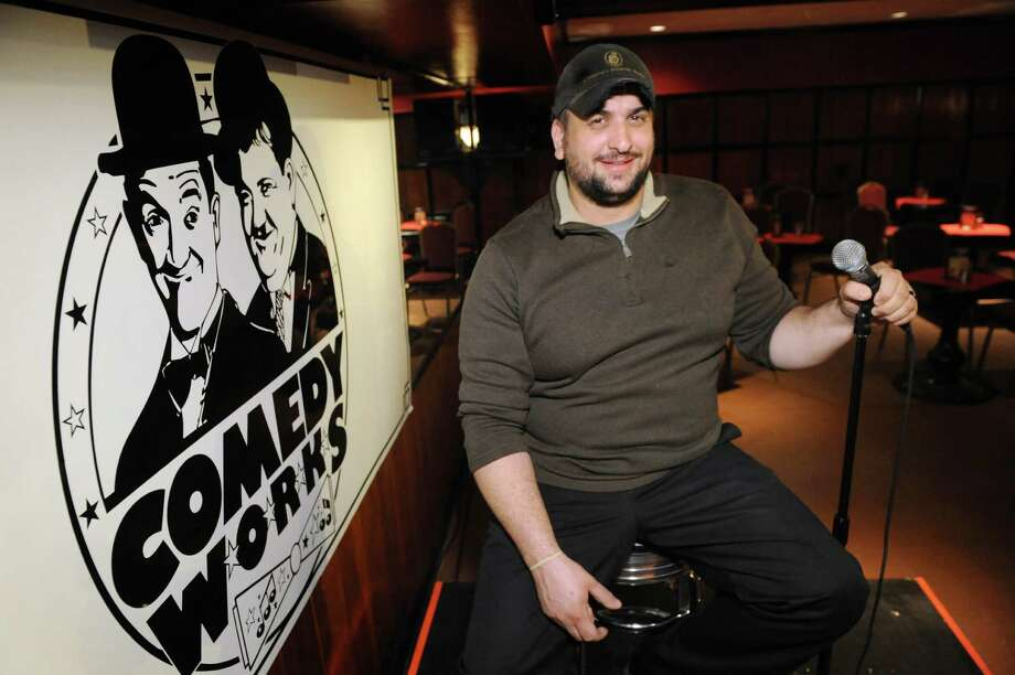 Comedy club owner Tommy Nicchi on Thursday, Oct. 22, 2015, at Comedy Works in Albany, N.Y. (Cindy Schultz / Times Union) Photo: Cindy Schultz / 10033847A