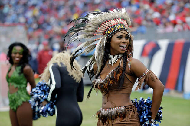 Tennessee Titans cheerleaders perform in Halloween costumes in the second half of an NFL football game  sc 1 st  Houston Chronicle & Tennessee Titans cheerleaders perform in Halloween costumes ...