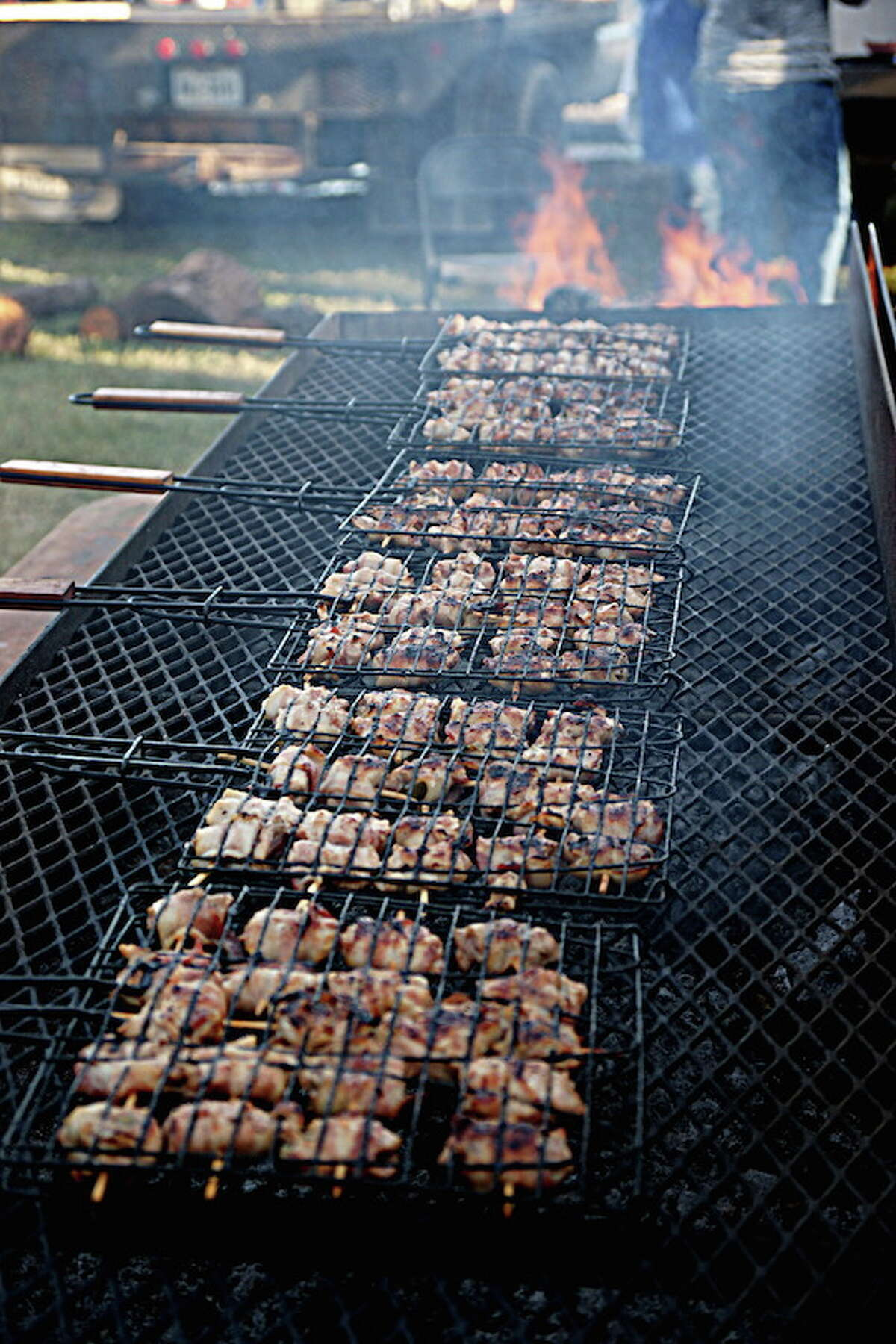 Bacon wrapped quail breasts made by the cook team Grill Billies for the Wild Game Dinner held at Kendall County Fairgrounds on Nov. 7.