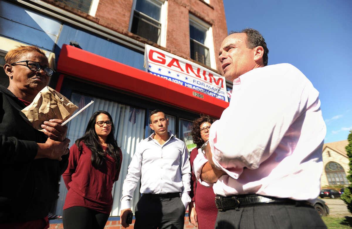 Bridgeport Democratic mayoral candidate Joe Ganim