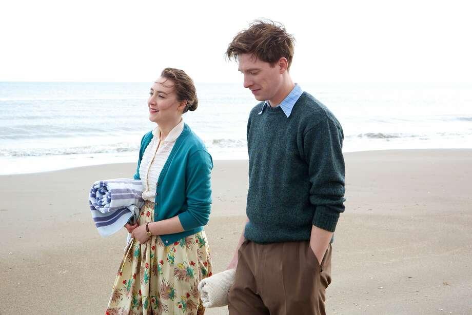 "Saoirse Ronan and Domhnall Gleeson star in ""Brooklyn."" Photo: Fox Searchlight"