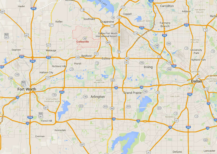 Cities with the highest and lowest median credit scores of its residents, according to WalletHub. Highest ranking Texas city  11. Colleyville 775  Photo: Google Maps