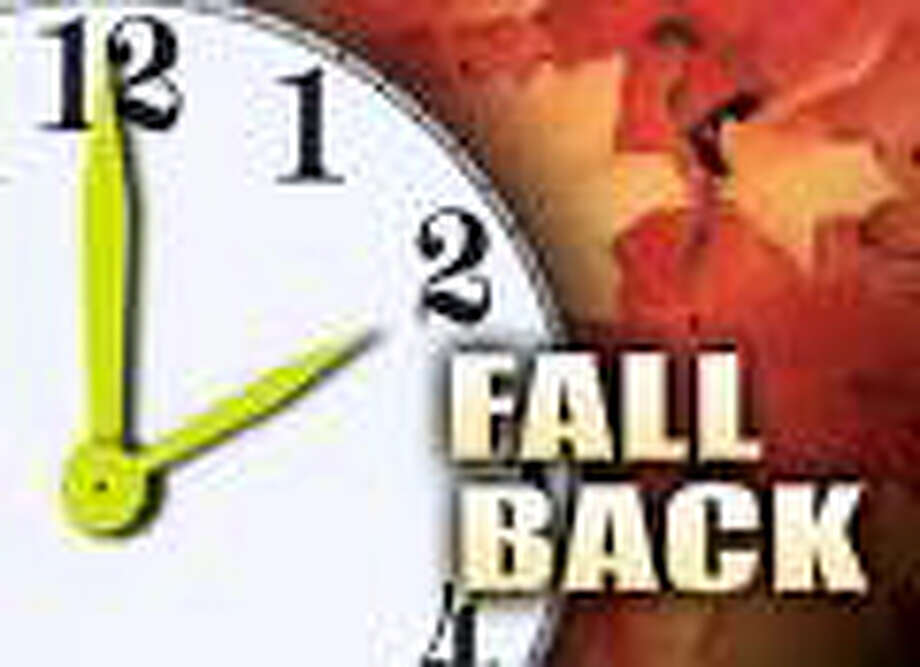 Time change Sunday November 1