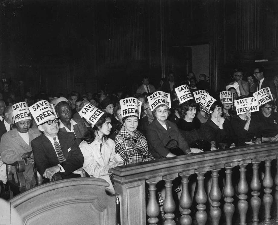 Protestors at the San Francisco Supervisors Meeting in 1966. Photo: Bill Young / Bill Young / Chronicle File / ONLINE USE_YES