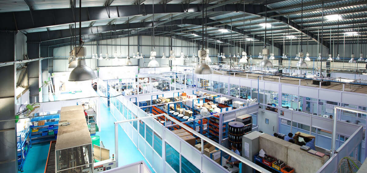 Indo-MIM specializes in the production of precision component parts through metal injection molding at its facilities such as this one in Bangalore, India. The products are used by manufacturers in the aerospace, automotive, biomedical, defense and other industries around the world.