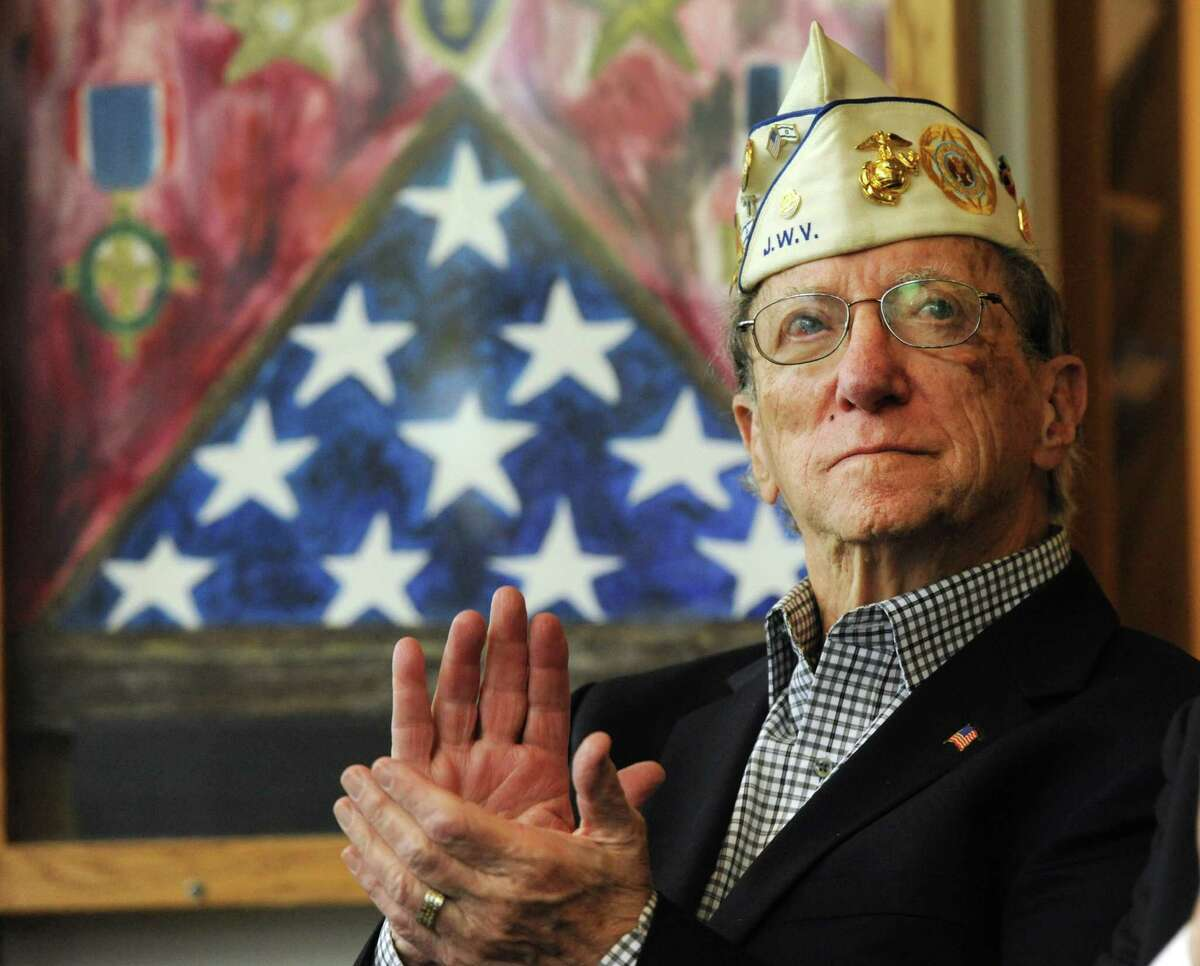 Kurt Zimbler , a Korean War veteran and the commisioner of the local Jewish War Veterans, lives in Stamford. Zimbler's family narrowly escaped the Holocaust after fleeing to the U.S. during the Nazi occupation of Austria and the deadly Kristallnacht in 1938.