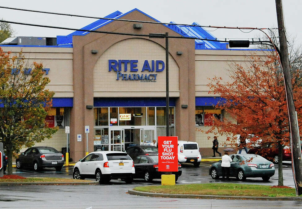 A view of the Rite Aid on Albany Shaker Road on Wednesday, October 28, 2015 in Colonie, N.Y. (Paul Buckowski / Times Union)