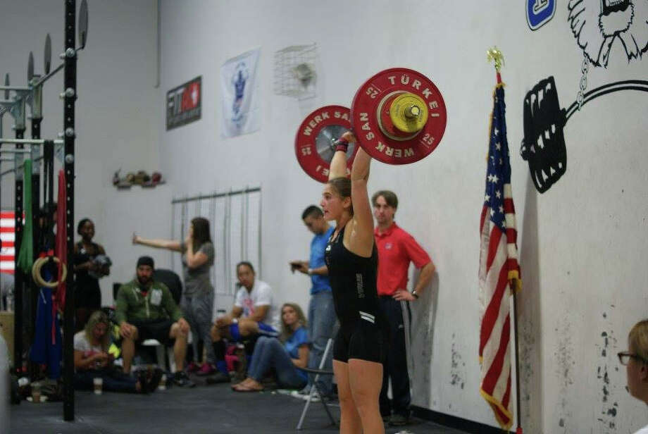 Celia Gold competes at the Nutmeg State Open Olympic Weightlifting Championships at CrossFit Bethel in Bethel, CT on Sunday, Oct. 11, 2015. Photo: Contributed Photo / - / News-Times Contributed