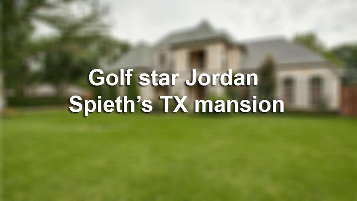 Take a look inside Golf star Jordan Spieth's Texas mansion.
