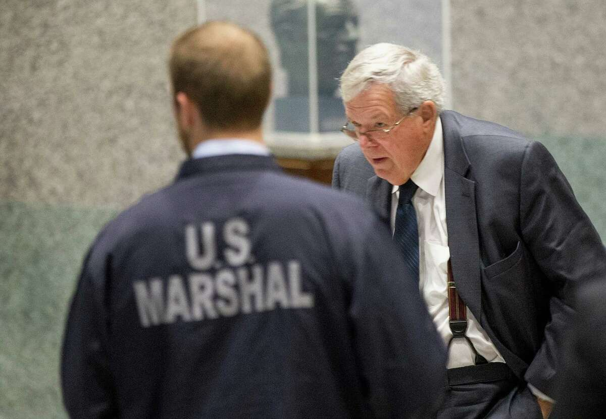 By pleading guilty, former Speaker of the House Dennis Hastert avoids trial, and details of what led to his indictment stay private.