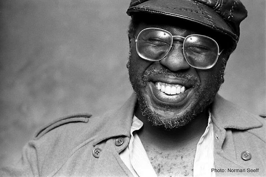 Singer Curtis Mayfield — an unlikely superstar? Photo: Norman Seeff