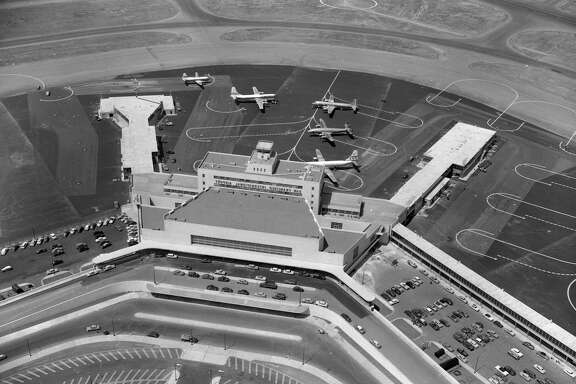 The San Francisco International Airport grand opening was held Aug. 27-29, 1954.