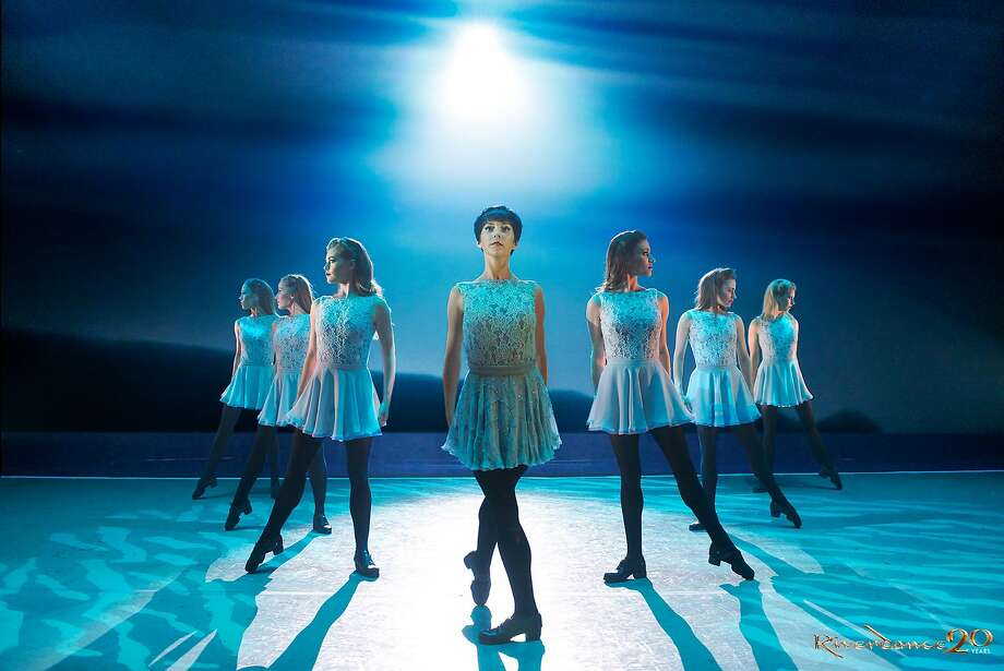 "A scene called ""Anna Livia,"" from Riverdance's 20th Anniversary show which opens at the Golden Gate Theatre this weekend.  Photographer: Jack Harlin Photo: Jack Harlin"