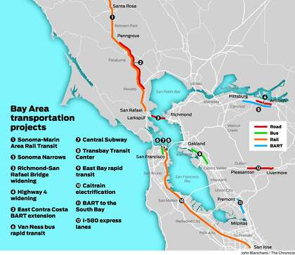 Transit project changes: What it means for your Bay Area