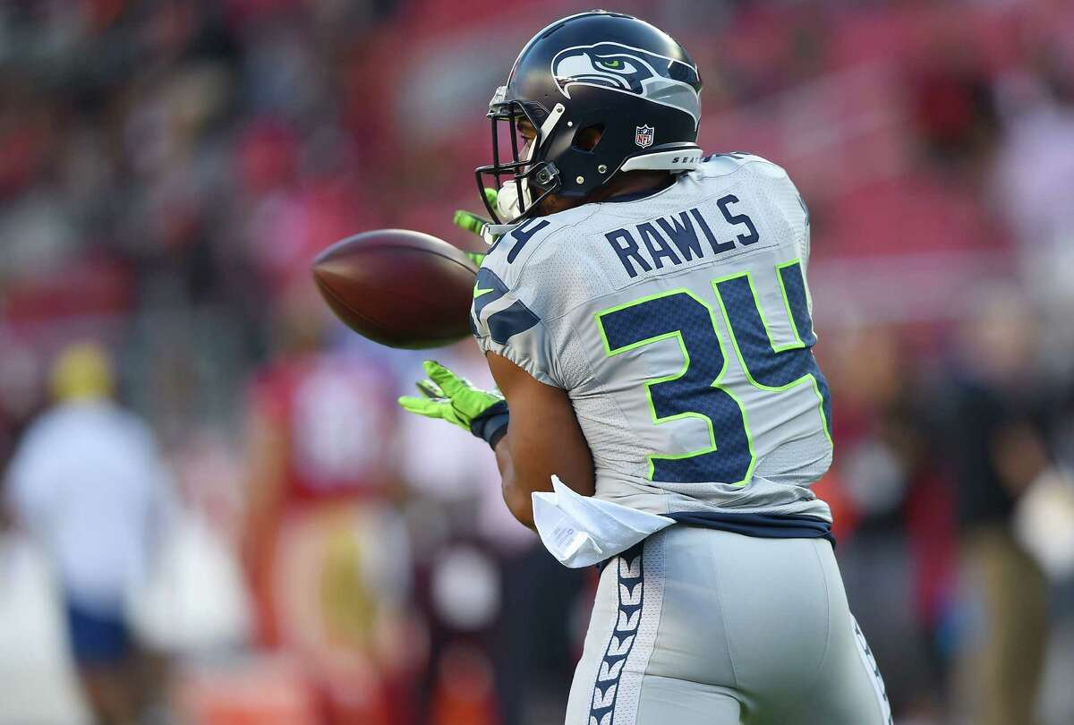 Running backs (continued) After beating out Christine Michael and Robert Turbin, undrafted rookie Thomas Rawls has emerged as a legitimate No. 2 running back and the heir apparent to Lynch.  Though his carries have dwindled since Lynch returned from injury, Rawls remains the team's leading rusher (376 yards) and is averaging 5.4 yards-per-carry. It will be interesting to see how much offensive coordinator Darrell Bevell uses Rawls in the season's second half.  Veteran Fred Jackson should also get a mention, though he hasn't done much -- 17 receptions for 152 yards -- to influence the grade since being signed as a free agent at the urging of Lynch.