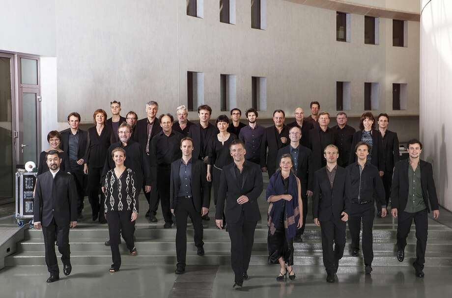 Ensemble Intercontemporain is coming to Berkeley for a weekend. Photo: Franck Ferville