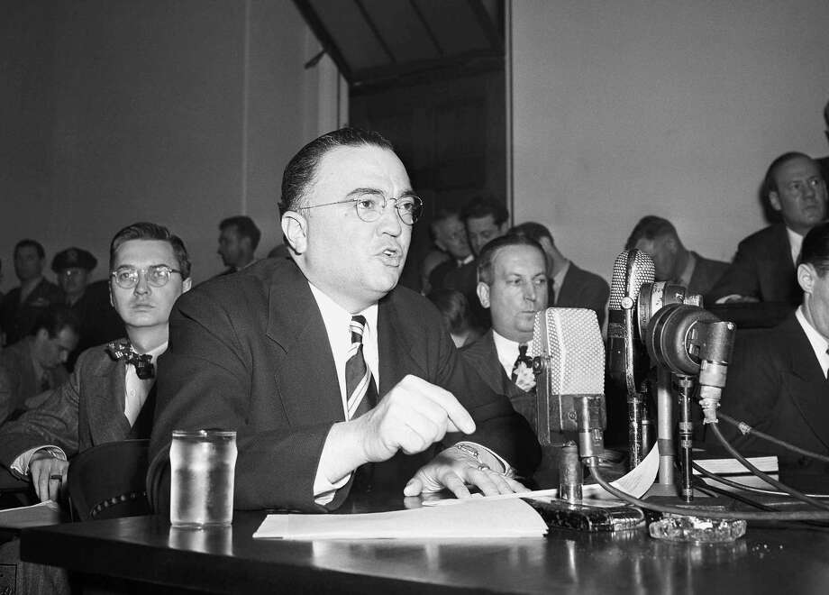 The FBI headquarter's are named after former director, J. Edgar Hoover. Photo: Anonymous, STF / AP