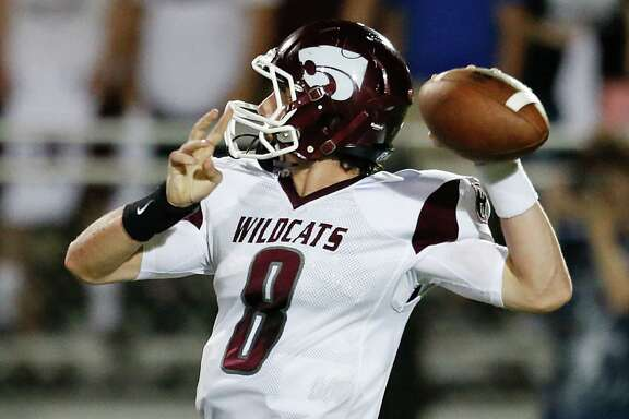 Clear Creek quarterback Chase Hildreth likely will have to be sharp Friday night against Dickinson in a battle of unbeatens that promises to be high-scoring.