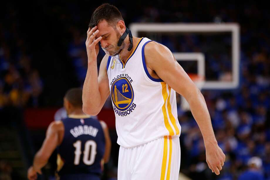 Injured Andrew Bogut hasn't played since the first game. Photo: Ezra Shaw, Getty Images