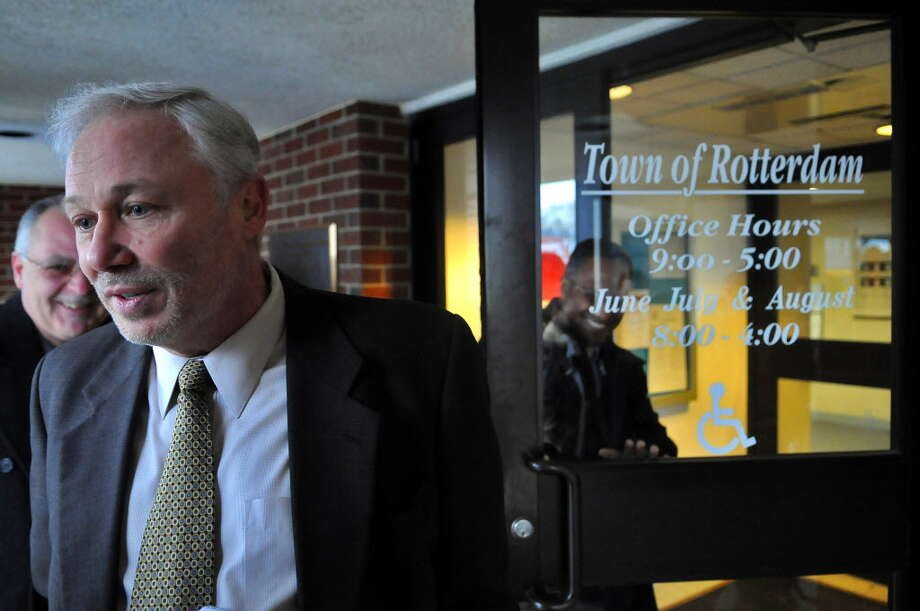 Democratic Rotterdam Supervisor Harry C. Buffardi, seen here in 2011, took criticism from Republican Town Board member Joe Villano over the proposed 2016 town budget at the Oct. 28, 2015, budget hearing. (Times Union file photo) Photo: Philip Kamrass / 00012472A