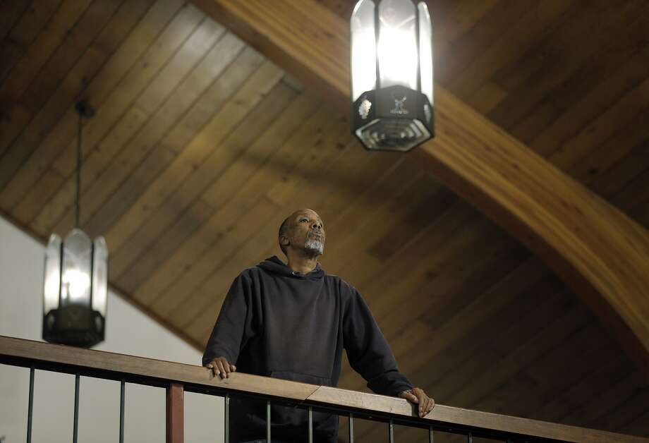 Keith Honeywood listens to the singers during choir rehearsal at the Pleasant Grove Baptist Church in Oakland, Calif., on Wednesday, October 28, 2015. The church has been feuding with the city of Oakland over an excessive noise complaint by an anonymous neighbor. Photo: Carlos Avila Gonzalez, The Chronicle