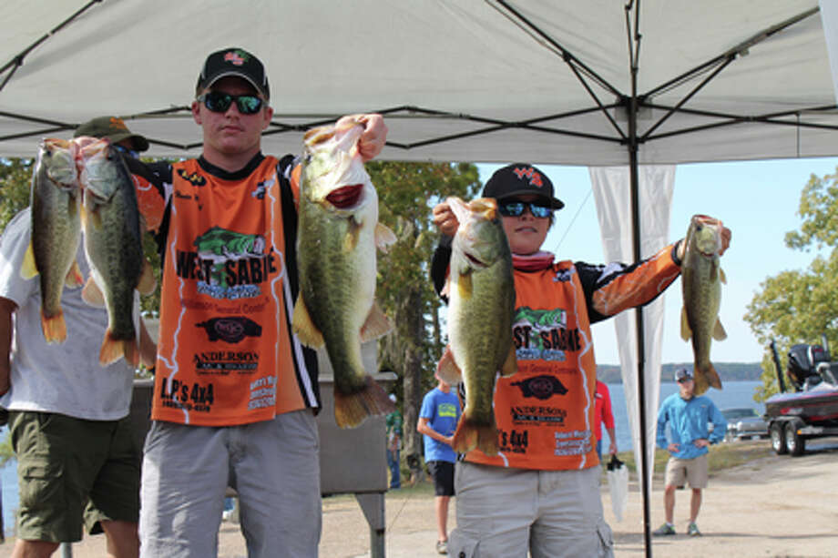 1st place went to the West Sabine Bass Club with Hunter Muncrief and Landon cCary photo by Terry Sympson